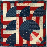 Flags of our Mothers: Vintage Revisited, quilt 3